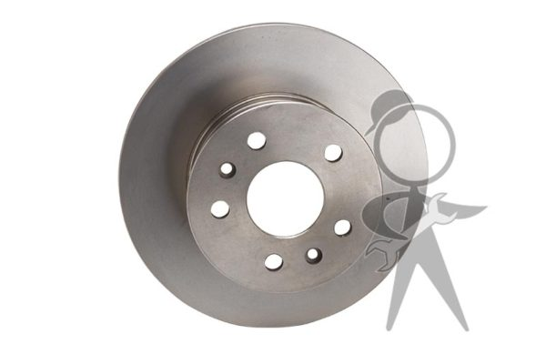 Brake Rotor, Front, L or R - 211-615-301 B IT