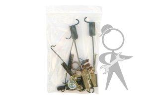 Brake Hardware Set, Front L/R - 211-698-001 A