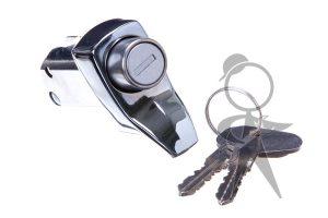 Engine Lid Lock, Chrome w/Keys - 211-827-503 L CR