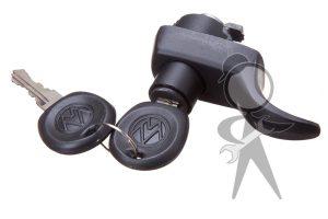 Handle w/Lock & Keys, Rear Hatch - 211-829-231 R BRBK