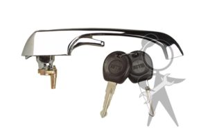Door Handle Locking w/Key - 211-837-205 N