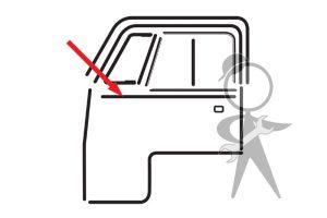 Seal, Btwn Wdw Frame & Frt Cab Door - 211-837-395 A PR