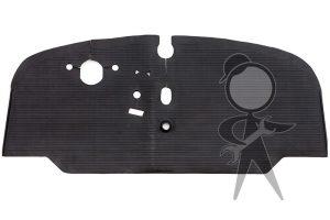 Floor Mat, Rubber, Front Cab - 211-863-711 D