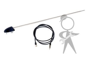 Antenna, Black Single Side Mount - 211-901-900