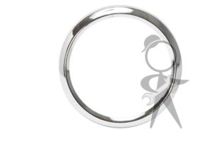 Chrome Ring On Gas Gauge - 211-919-205