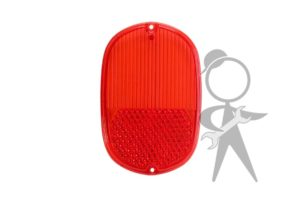 Lens, Tail Light, Red - 211-945-241 G