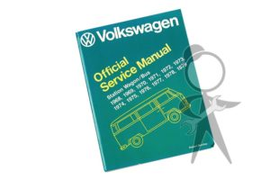 Official Service Manual, Type 2 68-79 - 211-OSM-279