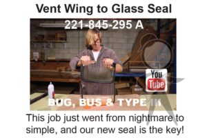 Seal, Vent Glass to Frame - 221-845-295 A