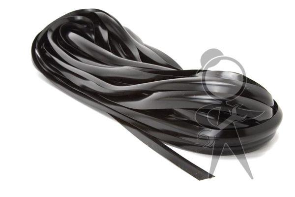 Plastic Insert, Belt Line Molding, Black - 241-853-509 BK