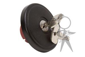 Gas Cap, Locking w/Keys, Syncro Only - 251-201-551 H OE