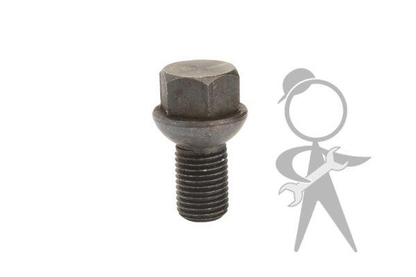 Lug Bolt 14mm x 1.5 x 21mm Black - 251-601-139