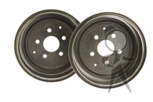 Brake Drum, Rear, ATE Italy - 251-609-615 IT