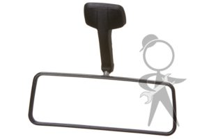 Mirror, Interior, Black - 251-857-501 C BK