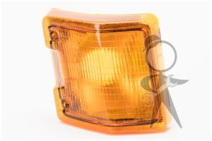 Lens & Housing, Front Turn, Euro, Left - 251-953-141 A