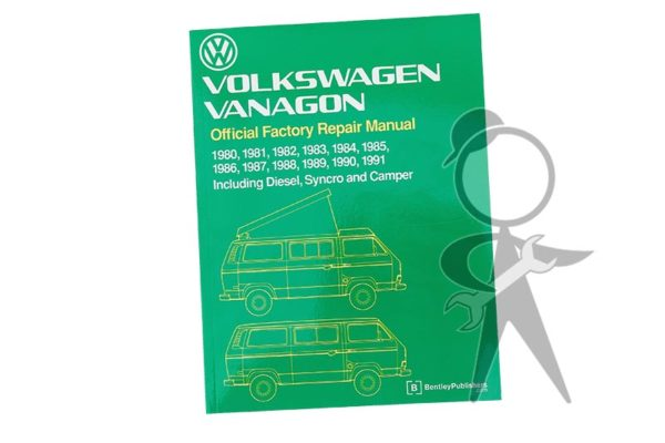 Workshop Manual, Vanagon 80-91 - 251-OSM-291