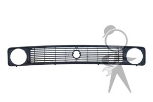 GRILL, Front, Upper, Black - 255-853-652