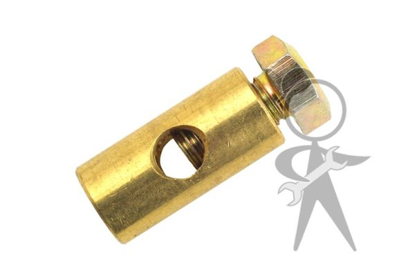 Barrel Clamp w/Bolt, Heater Cbl/Accel Cbl - 311-129-777