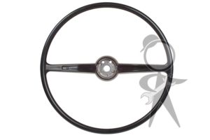 Steering Wheel, Charcoal Black - 311-415-651 C BK
