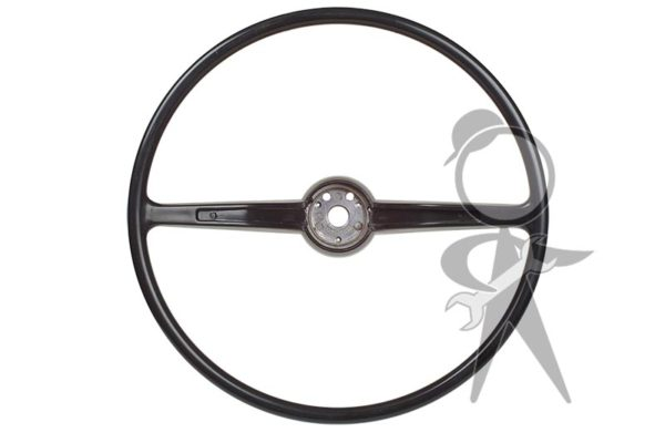 Steering Wheel, Charcoal Black - 311-415-651 C BK