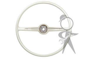 Steering Wheel, Silver Beige - 311-415-651 C WH