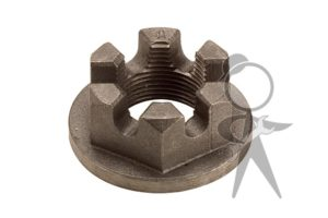 Axle Nut, Rear, 36mm Hex - 311-501-221