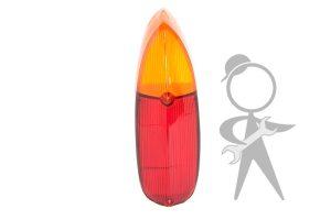 Lens, Tail Light, Amber/Red - 311-945-223 B