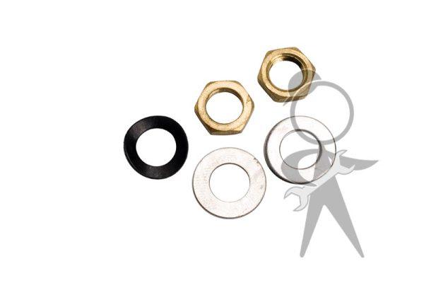 Wiper Shaft Mounting Hardware (5pc Set) - 311-998-243