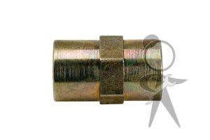 Union, Metal Brake Line - 411-611-789