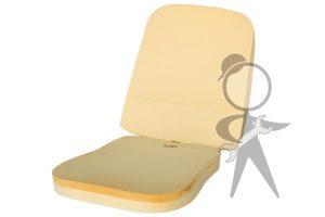 Seat Pad, Frt Bottom & Back (Molded) - 43-1103