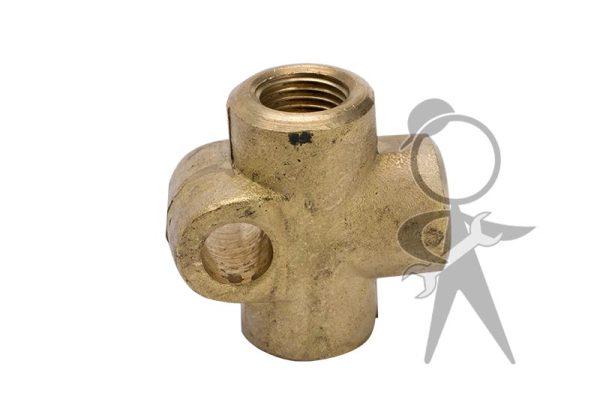 T Piece, Brake Fluid Distributor - 803-611-755