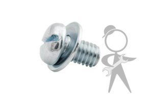 Screw, Engine Tin w/Washer 6x10 - N107144