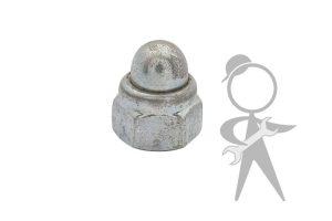 CV Crank Handle Cap Nut, Chrome - N111422