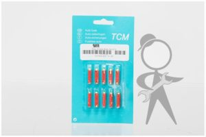 Fuse, 16 Amp (Red), Set of 10 - N171214 ST