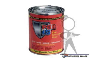 Paint, POR-15 Rust Prev., Black (Pint) - POR-859-701