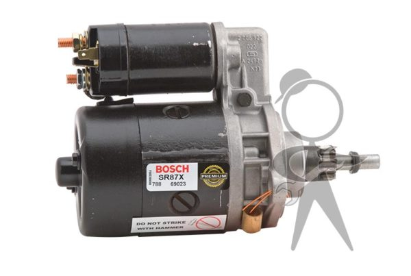 Starter, 12V Bosch Remanufactured - SR87X