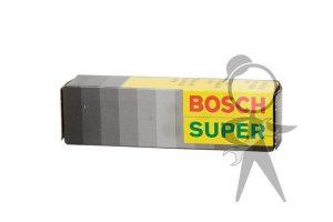 Spark Plug, Resistor, Bosch - WR8DC
