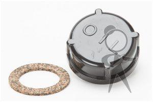 Cap, Repl Screw-on, Polished Oil Filler - ZVW-115-486 PL