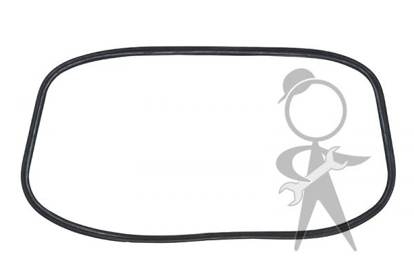 Seal, Rear Window Glass, T-Chan, Molded Corners - 143-845-521 C SQ