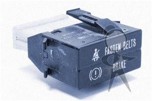 Brake & Seat Belt Warning Light USED - 251-919-232 F U