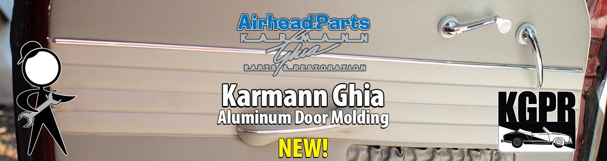 karmann ghia door molding