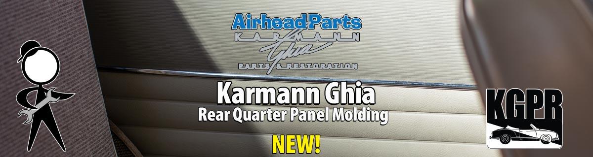 karmann ghia panel molding